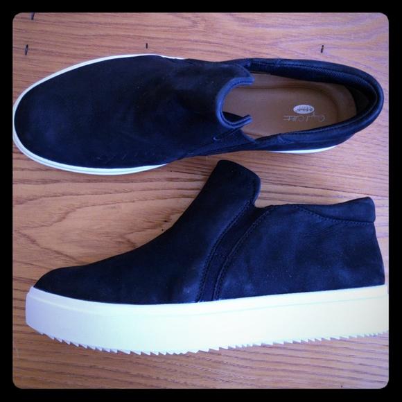 Dr Scholls Genuine Leather Leta Sneaker